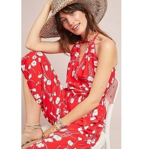 Anthropologie Andros Printed Jumpsuit new